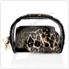 &#x2764️ Victoria's Secret Leopard Cosmetic Trio Bag