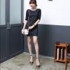 Black Lace Dress เดรสผ้าลูกไม้ สีดำ