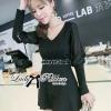 Lady Ribbon Embellished Flare Dress