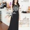 Lady Ribbon Chiffon Lace Maxi Dress เดรสยาวตัดต่อผ้าชีฟองและผ้าลูกไม้สไตล์วินเทจ