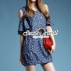 Seoul Secret Star Star Denim Dress