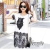 IceVanilla Owl 3D Lace Stitching Dress