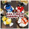 M&M's Jumbo Character Luggage Tag