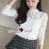 Seoul Secret Blouse เสื้อลูกไม้แขนยาว
