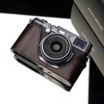 Gariz Leather Half-case for Fuji X100 / X100s: Brown