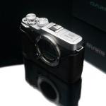 Gariz Leather Half-case for Fuji X-M1, X-A2: Black