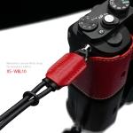 Gariz Leather Wrist Strap : XS-WBL10 (Red)