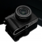 Gariz Leather Half-case for Lumix LX100 : Black