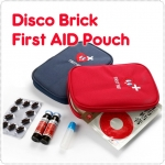 Disco Brick First AID Pouch
