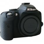 Nikon D3200 EasyCover Silicone Case -Black