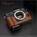 Gariz Leather Half-case for Fuji X-T10, X-T20 : Camel