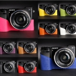 เคสกล้อง TP Half-case for Sony A6000 color collection