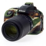 Nikon D5300 EasyCover Silicone Case -Camouflage