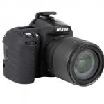 Nikon D90 EasyCover Silicone Case -Black
