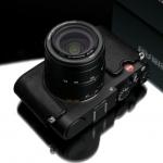 Gariz Leather Half-case for Leica New X type 113 : Black