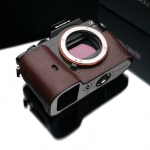 Gariz Leather Half-case for Sony A7 : Brown