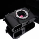 Gariz Leather Half-case for Olympus E-P5: Black