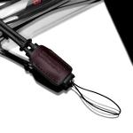 Gariz Leather Wrist Strap : XS-WS3 (Brown)