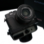Gariz Leather Half-case for Sony RX1 Black
