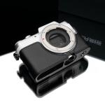 Gariz Leather Half-case for Panasonic GF7: Black