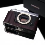 Gariz Leather Half-case for Fuji XE1 /XE2 : Brown