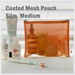 Coated Mesh Pouch - Slim Medium