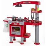 ชุดเครื่องครัวแฮมเบอร์เกอร์ สีแดง Kitchen set ...ฟรีค่าจัดส่ง