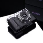Gariz Leather Half-case for Fuji X100 / X100s Black Label : Black