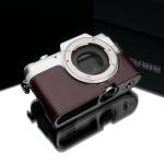 Gariz Leather Half-case for Panasonic GF7: Brown