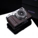 Gariz Leather Half-case for Fuji X100 / X100s Black Label : Brown