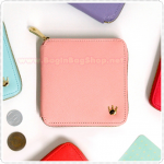 Crown Zipper Wallet
