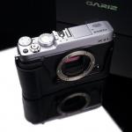 Gariz Leather Half-case for Fuji XE1 /XE2 : Black