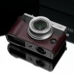 Gariz Leather Half-case for Fuji X30 : Brown