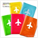 HAPPY FLIGHT Passport Cover