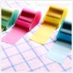 กระดาษโน๊ตมีกาวแบบม้วน พร้อมแท่นตัด