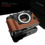 Gariz Leather Half-case for Fuji X-T1 : Camel