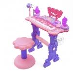 Electronic Keyboard Beauty Piano สีชมพู