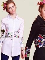 Charlotte Embroider Shirt by Seoul Secret