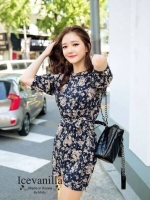 Icevanilla Classic Floral Dress