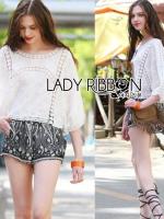 Lady Ribbon เสื้อสไตล์วินเทจ