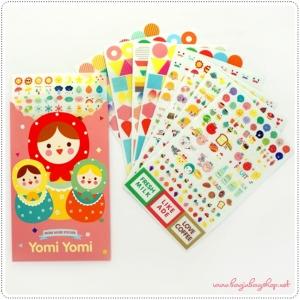 Yomi Yomi Sticker set