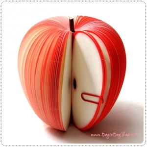 Memo Apple กระดาษโน๊ต รูปแอปเปิ้ล