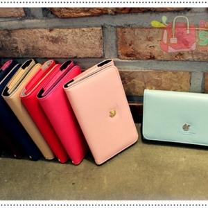 AMI MULTI POUCH กระเป๋าสตางค์ใส่มือถือรุ่นใหญ่ for Galaxy Note2