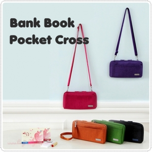Bank Book Pocket Cross