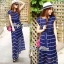 Lady Ribbon White Stripe Pleatpleats Maxi thumbnail 7