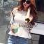 Seoul Secret เสื้อลูกไม้ทอลายดอกเดซี่เล็กๆ thumbnail 6