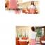 Mayuki Brand กระโปรงสั้นผ้า สีชมพูหวาน แต่งชายกระโปรงเก๋ๆ thumbnail 2