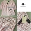 Lady Ribbon เสื้อผ้าคอตตอน สีชมพู ขาว กรมท่า ปักลายดอกไม้ thumbnail 13