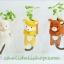 ตุ๊กตา หมี กระถางเซรามิค พร้อมชุดปลูกต้นอ่อน เมล็ดพันธุ์ Clover thumbnail 4