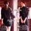 Lady Ribbon Lace Cardigan เสื้อคลุม ช่วงไหล่แต่งผ้าซีทรู สีขาว สีดำ thumbnail 4